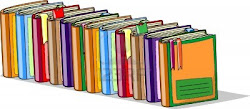 cartoon books vector schoolbooks writing competiton keeping ways clipground