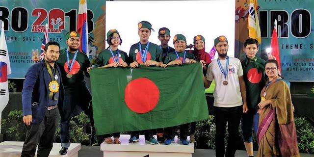 International Robot Olympiad 2018 Gold winning Project