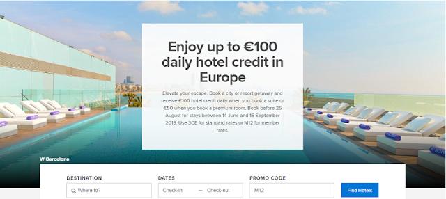 入住Marriott萬豪歐洲酒店 可享高達100歐元的消費額度!(8/25前預訂)