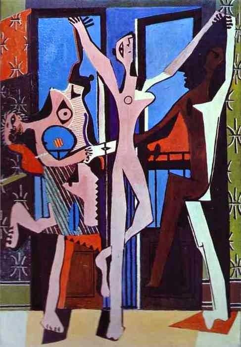 Les danseuses, Picasso, chaque enfant est un artiste