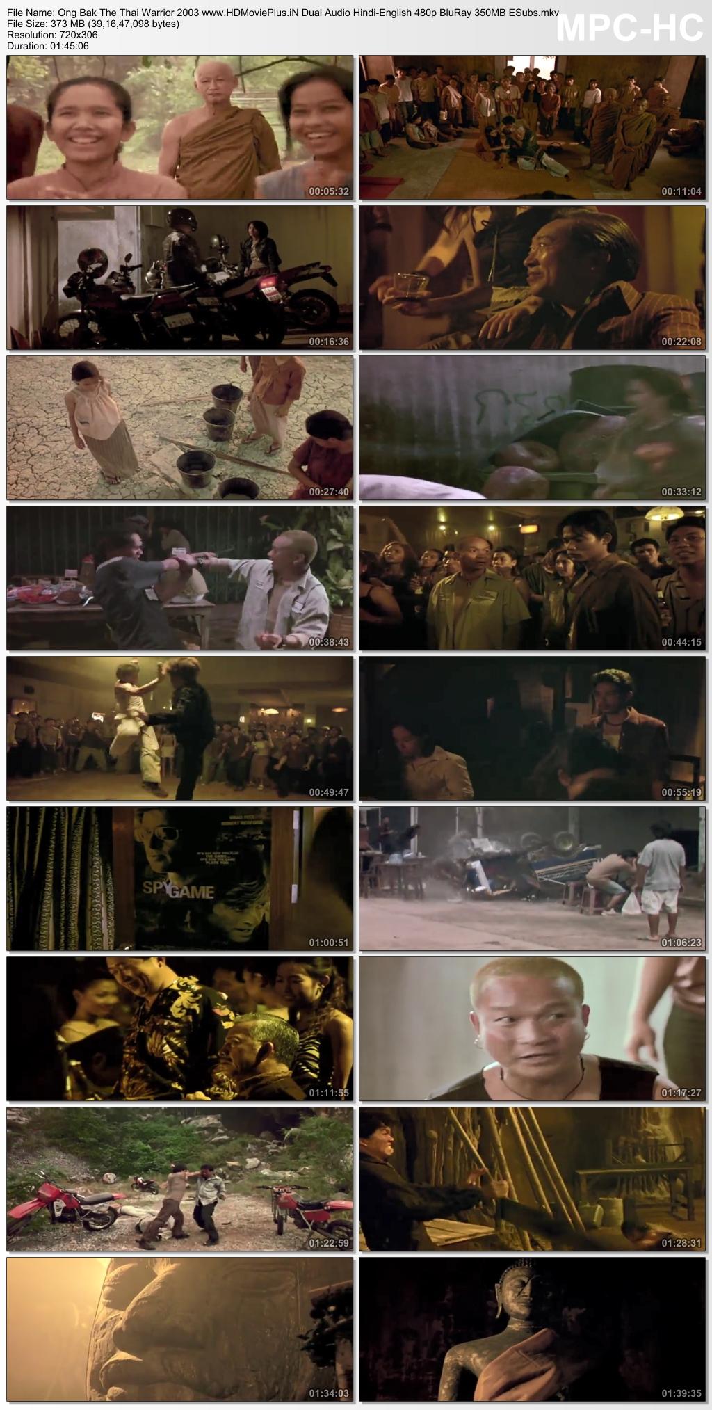 Ong-Bak: The Thai Warrior 2003 Dual Audio