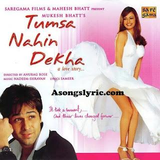 Tumsa Nahin Dekha (2004) Movie Songs Lyrics Mp3 Audio & Video Download