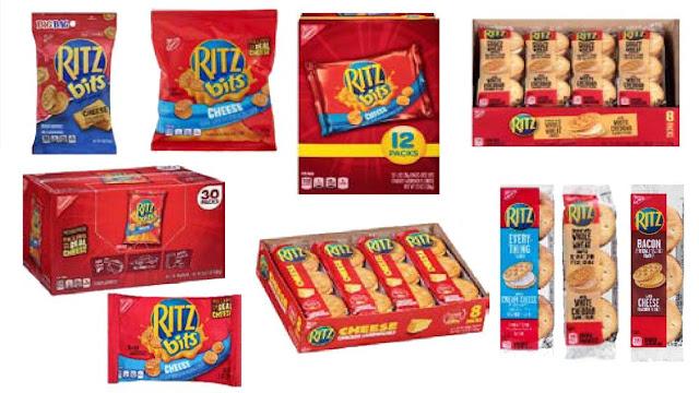 Ritz cracker sandwiches and Ritz Bits recalled