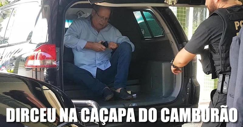 Resultado de imagem para jOSÉ DIRCEU NO CAMBURÃO