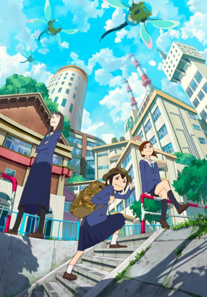 Eizouken ni wa Te o Dasu na! anime