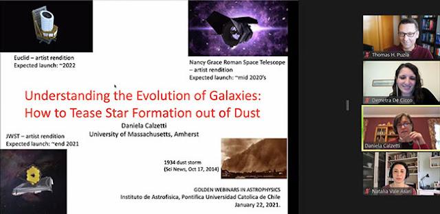 The Evolution of Galaxies (Source: Daniela Calzetti, Golden Webinar, http://astro.uc.cl/en)