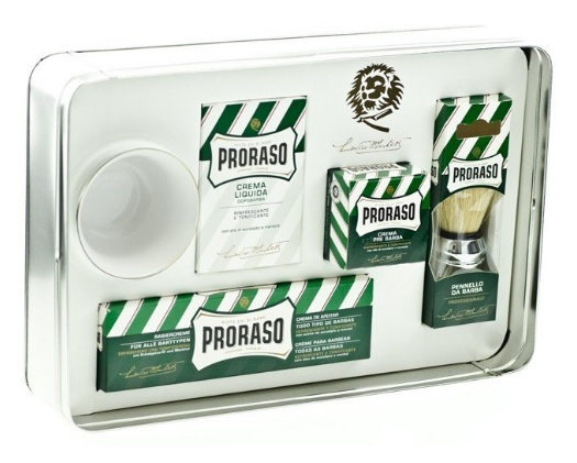 Proraso Shaving Essential for Men in Silver Gift Box
