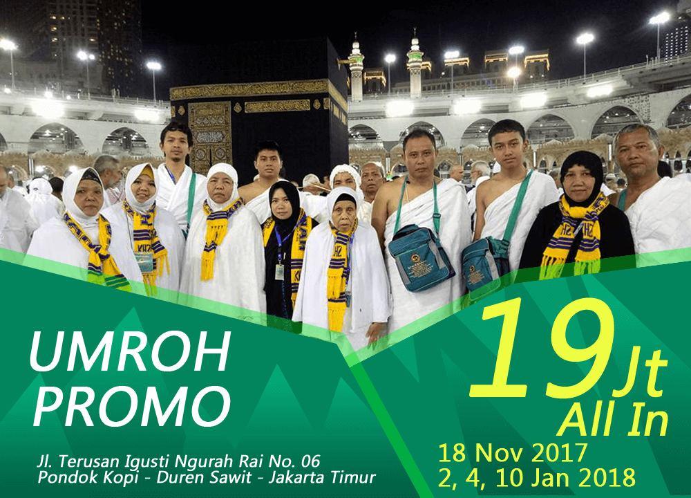 Paket Umroh Promo Khazzanah Tour