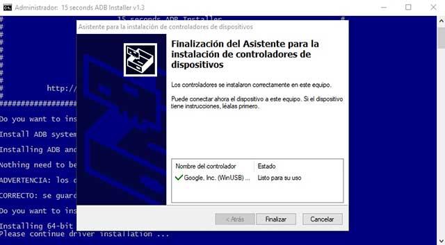 como instalar un firmware con adb fastboot
