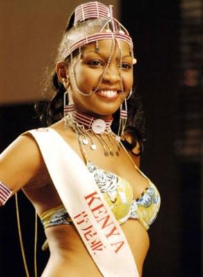 top kenyan models - top models in kenya - cecilia mwangi