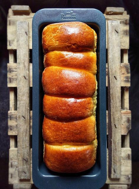 Selbst gebackener Toastbrot