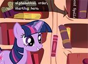 La biblioteca de Twilight Sparkle juego