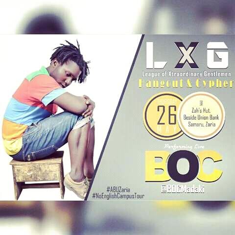 L.X.G BRINGING | @Bocmadaki To A.B.U ZARIA!!!