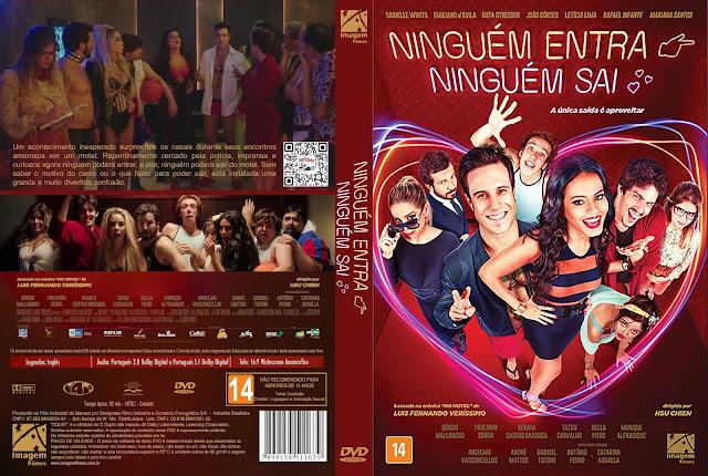Capa DVD Ninguém Entra, Ninguém Sai [Custom]