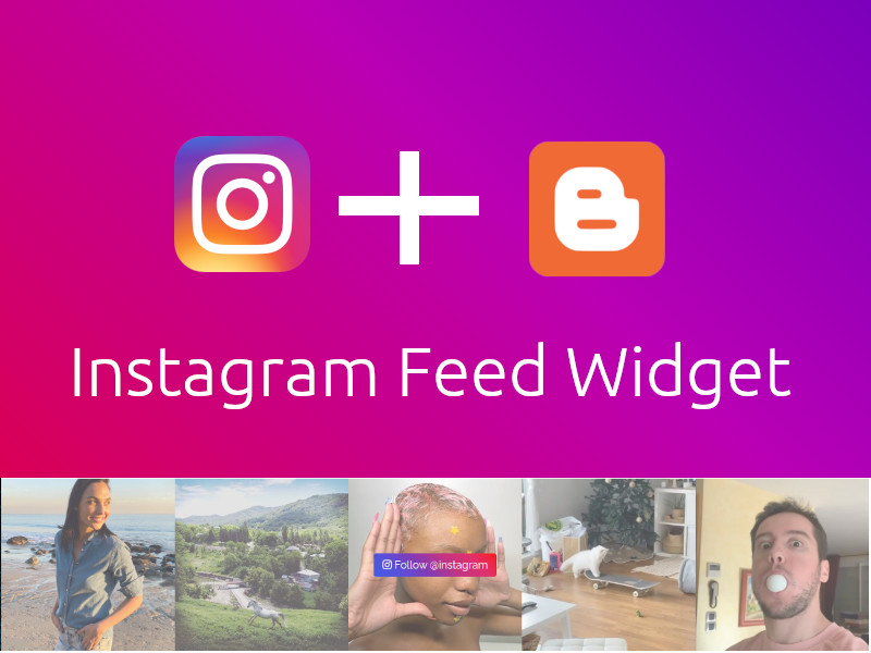 Instagram Feed Widget Blogger