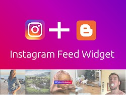 How to add Instagram Feed Widget to Blogger (Free & Without Authentication)