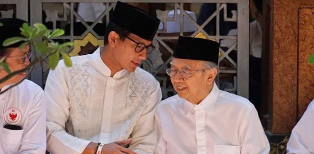 Sebelum Wafat, Gus Solah Sempat Ajak Kerja Sama Bareng Sandiaga