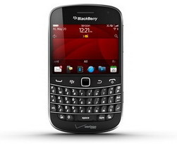 Verizon BlackBerry Bold 9930 on August 25