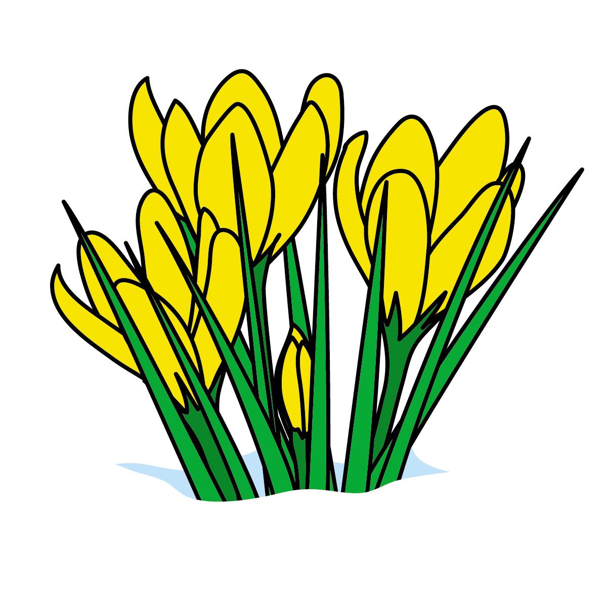 free easter flower clip art - photo #39