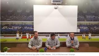 Persib Bandung Resmi Rekrut Trio PSMS Erwin, Frets, dan Abdul Aziz