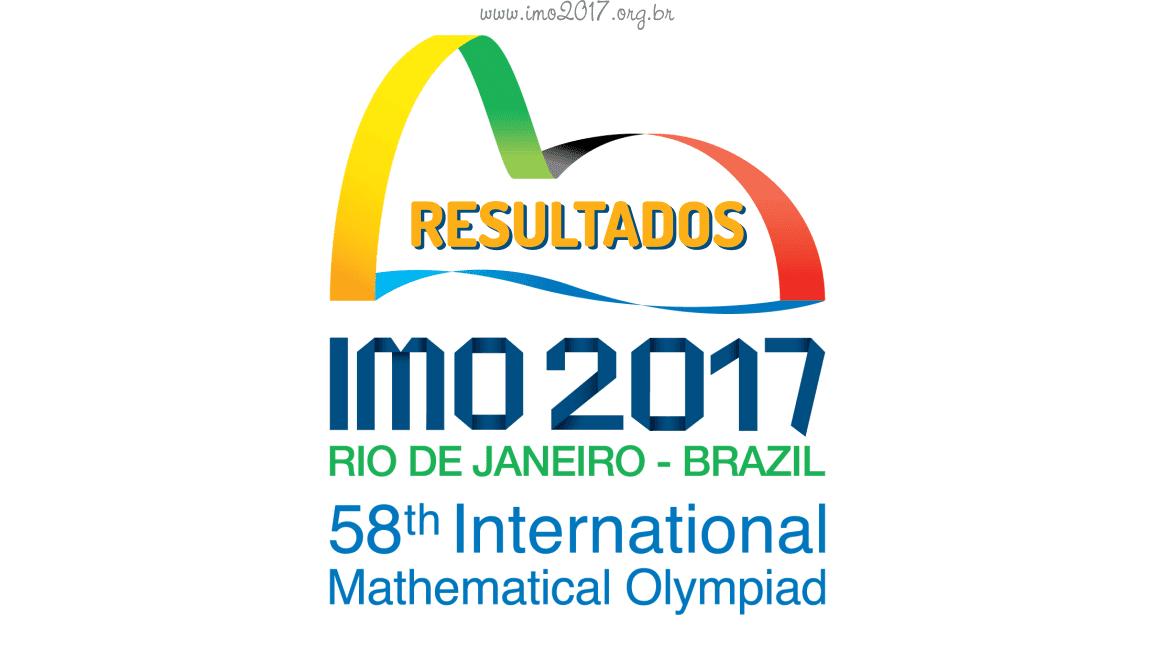 Os asiáticos são os campeões da 58ª Olimpíada Internacional de Matemática (IMO 2017) no Rio de Janeiro
