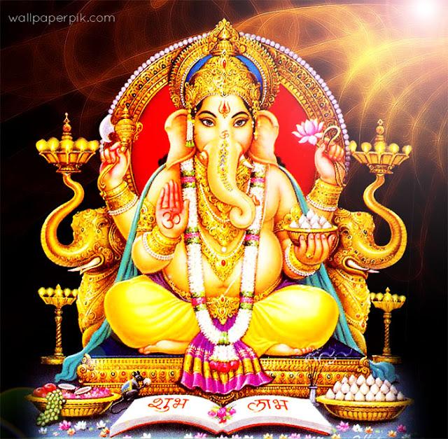 new ganesh chatutrthi image hd