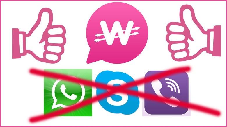 WowApp Viber Zalo Skype