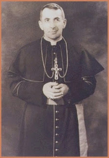 Albino Luciani in 1959, soon after he was  appointed Bishop of Vittorio Veneto