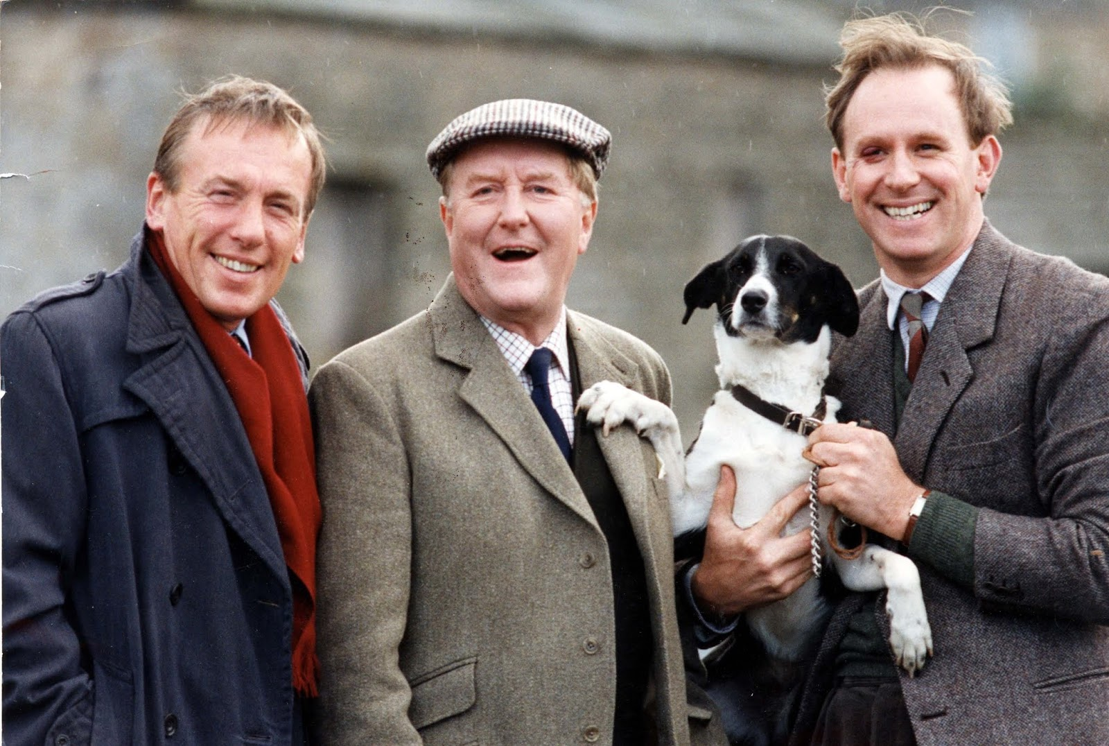 The cast of the original BBC series All Creatures Great and Small about a vet's practice in Yorkshire