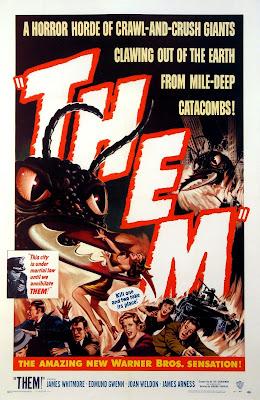Póster película La humanidad en peligro - 1954