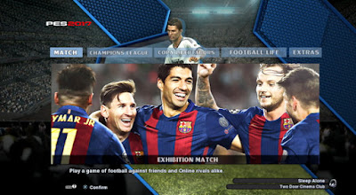 PES 2013 New menu graphics style by PES-Wining