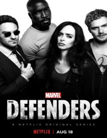 Poster of Marvels The Defenders Full TV Series free download in hd mkv