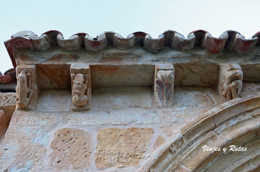 Canecillos de San Andrés de Gama