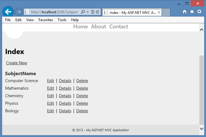 Three ways to populate selected value in DropDownList on Edit or