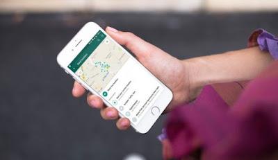 cara menggunakan fitur share location di whatsapp