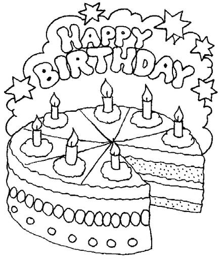 pin coloriage gateau anniversaire 1 coloriages nourriture en italien cake on pinterest. Black Bedroom Furniture Sets. Home Design Ideas