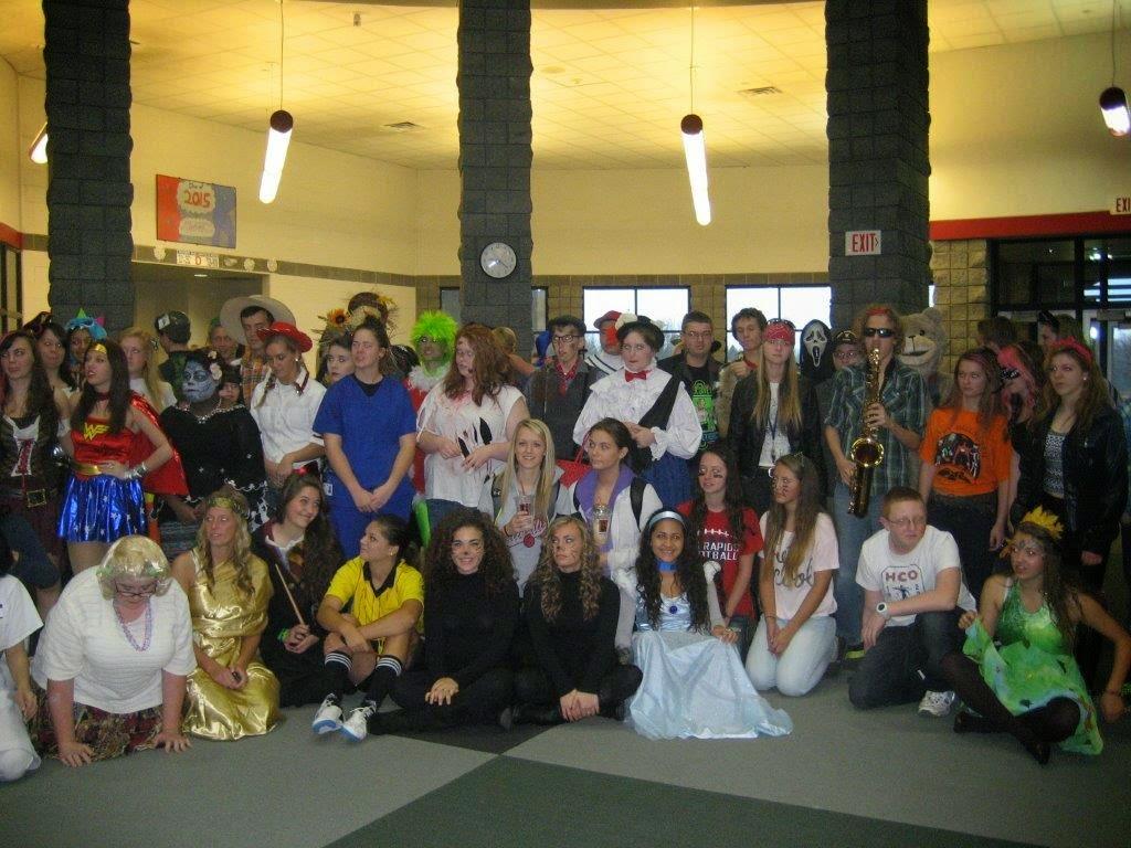 Big Rapids Public Schools News Halloween At Big Rapids