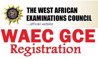 2018 WAEC GCE Registrat