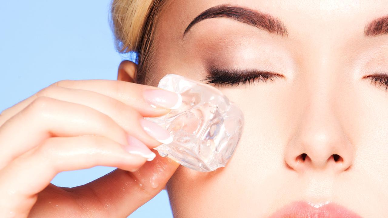 Manfaat Es Batu Untuk Kecantikan wajah