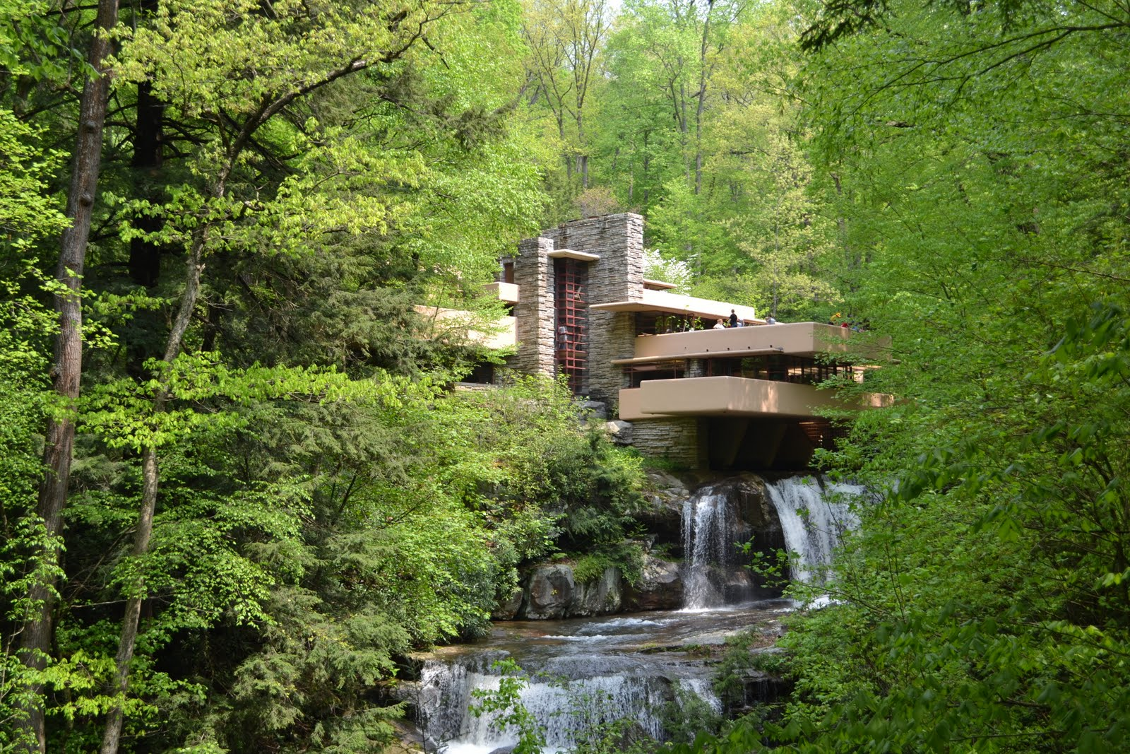 Casa E Kaufmann Casa de la Cascada 1936 Pennsylvania Frank Lloyd Wright