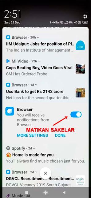 Cara Simpel Nonaktifkan Konten Iklan Dan Berita Pada Mi Browser