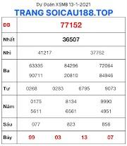SOI CẦU KQXS MIỀN BẮC 13 - DỰ ĐOÁN BẠCH THỦ ĐỀ CHUẨN - SOICAU188.TOP
