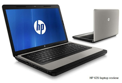 HP 635 laptop review