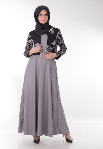 Model Long Dress Batik Modern Untuk Pesta Terbaru