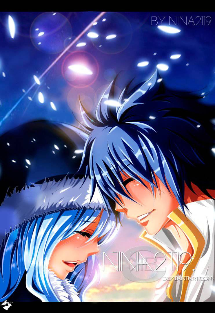 FairyTail- Ch. 545 - End - Irreplaceable Friends