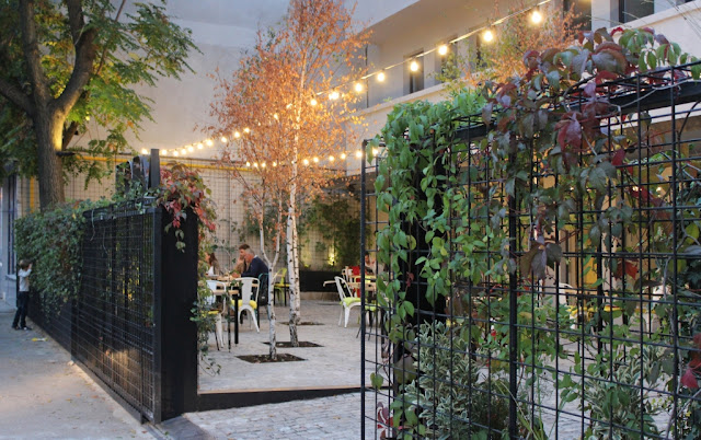 Proiect terasa restaurant Poteca Studio - Arhitect Peisagist Alexandru Gheorghe
