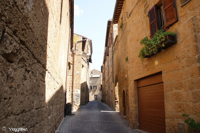 Una delle vie del Quartiere Medievale di Orvieto