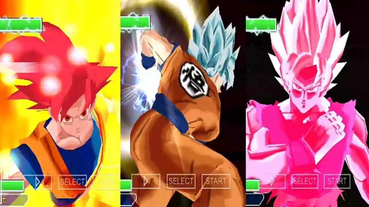Budokai Tenkaichi 3 Mod Goku All Transformation
