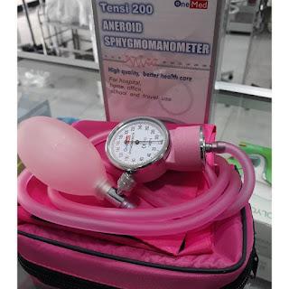X-Logers.net Tensi Meter Aneroid Onemed Tensimeter Kompas