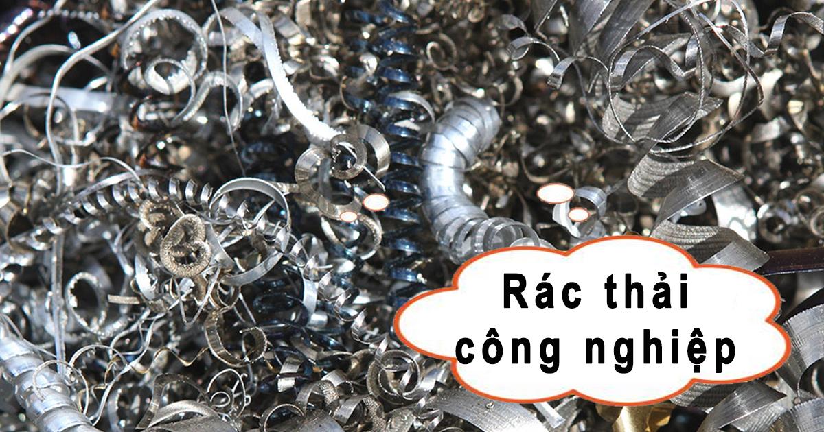Quy trình xử lí các loại rác thải công nghiệp là gì